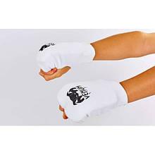 Накладки (рукавички) для карате VENUM (PL, р-р XS-L, білий) NK-10