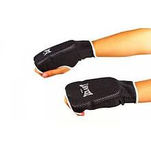 Накладки (рукавички) для карате ZEL (PL, р-р S-XL, чорний) NK-11