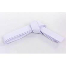 Пояс для кимоно Champion белый UR (хлопок, полиэстер, l-260см-300см) KR-5