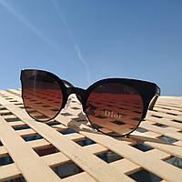 Солнцезащитные фирменные очки в стиле Dior