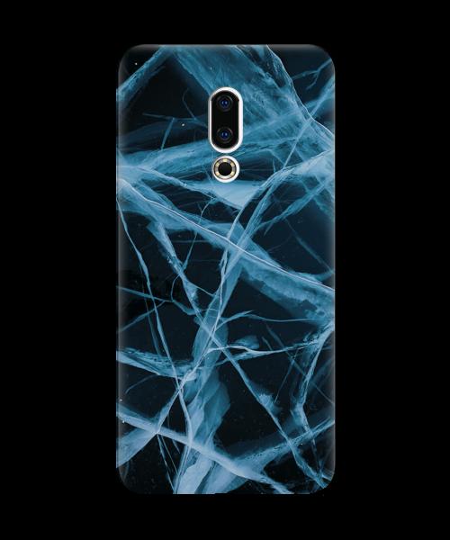 Силиконовый чехол СP-Case на Meizu 16X Arctic