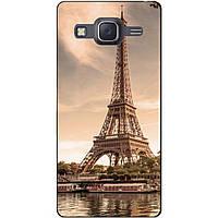 Cиликоновый чехол бампер с рисунком для Samsung Galaxy J5 J500 Париж