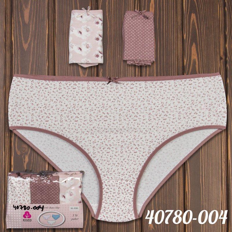 Набор трусиков мини-бикини женских оптом Dominant Турция 40780-004 | 3 шт.