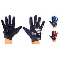 Мотоперчатки текстильные с закрытыми пальцами FOX (р-р L) PM-23