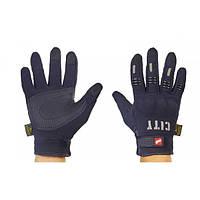 Мотоперчатки текстильные с закрытыми пальцами и протектором MADBIKE CITY (р-р M-XL) PM-51