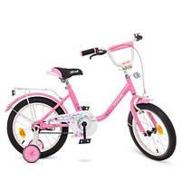 Дитячий велосипед PROF1 16Д. Y1681, рожевий, фото 1
