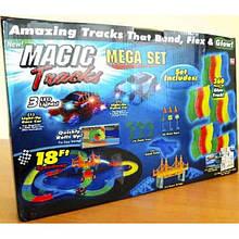 Magic Tracks Mega Set 360 оригинал Светится гнется 2 машинки DI-1