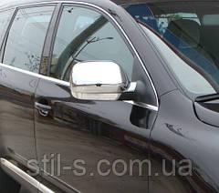 Накладки на зеркала  VW ТOUAREG (2003-2007)