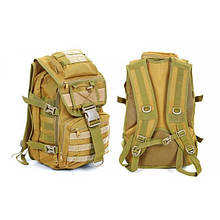 Рюкзак тактический штурмовой V-30л (полиэстер, нейлон, р-р 45х32х15,5см) RT-7