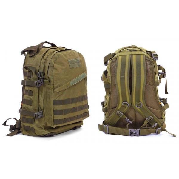Рюкзак тактический штурмовой трехдневный V-40л (полиэстер, нейлон, р-р  47х34х17см) RT-23