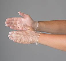 Перчатки виниловые, припудренные Polix PRO&MED 100шт. размер S,M,L,XL
