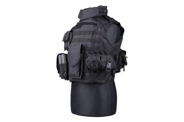 Жилет тактический (разгрузочный) типа IBA - black [GFC Tactical] (для страйкбола), фото 2