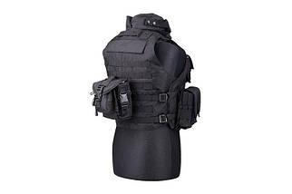 Жилет тактический (разгрузочный) типа IBA - black [GFC Tactical] (для страйкбола), фото 3