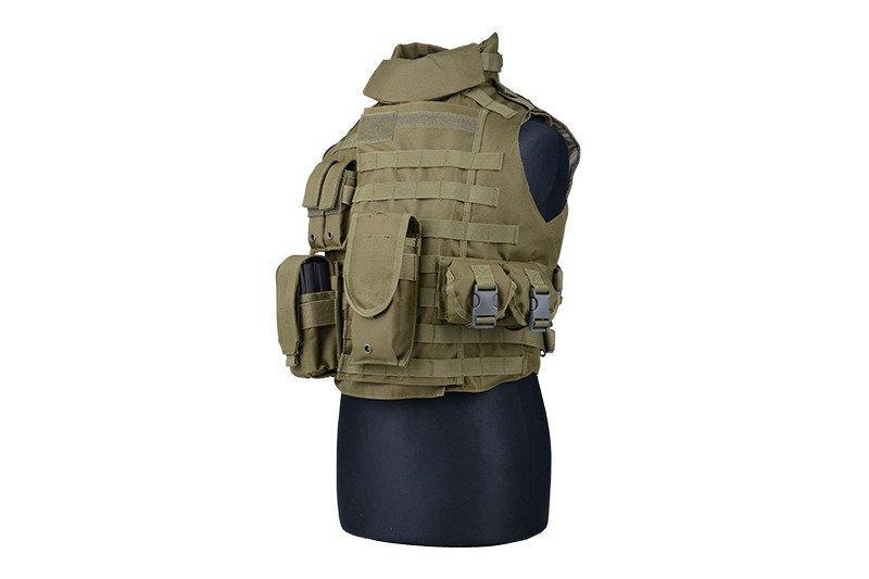 Жилет тактический (разгрузочный) типа IBA - olive [GFC Tactical] (для страйкбола)