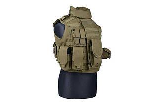 Жилет тактический (разгрузочный) типа IBA - olive [GFC Tactical] (для страйкбола), фото 2