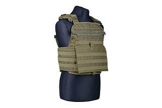 Жилет тактический (разгрузочный) типа Armor Plate Carrier - olive [GFC Tactical] (для страйкбола), фото 2