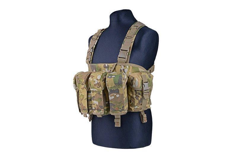 Жилет тактический (разгрузочный) типа Commando Chest - MC [GFC Tactical] (для страйкбола)