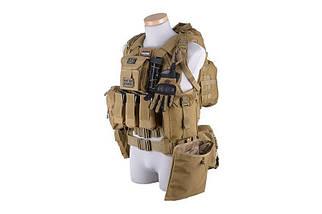 Plecak hydratacyjny - tan [GFC Tactical] (для страйкбола), фото 3