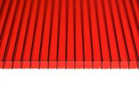 Поликарбонат Ultramarin  8мм Красный