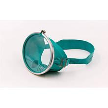 Маска для плавання Акванавт (гума, пластик, гартоване скло)
