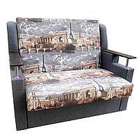 Диван - кровать Марта (Париж+серый). Детский диван с нишей для белья
