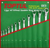 Набор накидных ключей Toptul 12 ед. 6-32 мм (угол 45°) GAAA1201