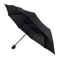 Компактный мужской зонт-полуавтомат Swifts, черный, 16033-1