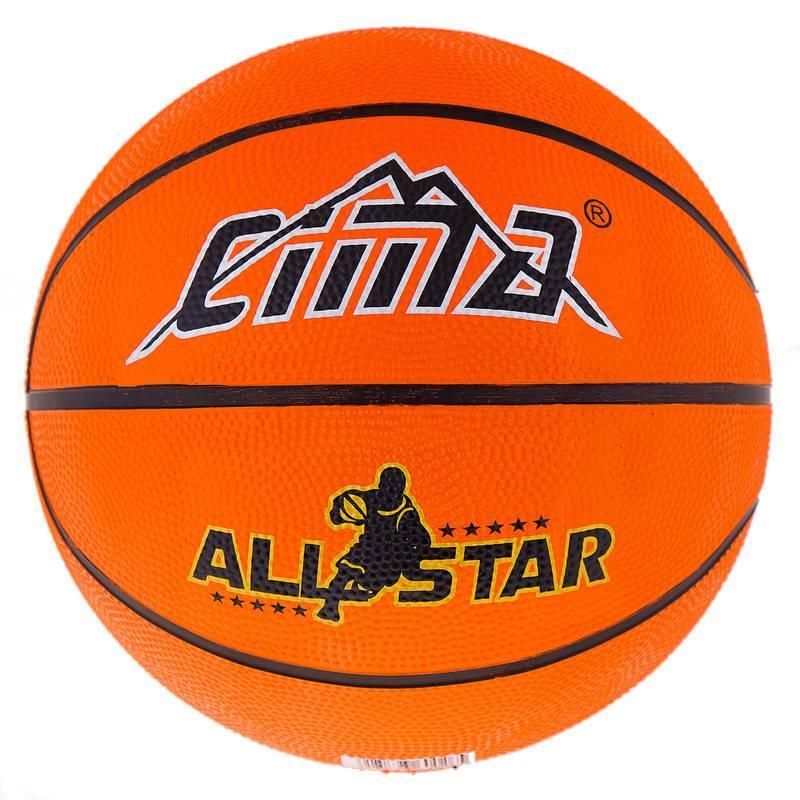 Мяч баскетбольный резиновый №7 Sima, R7CM