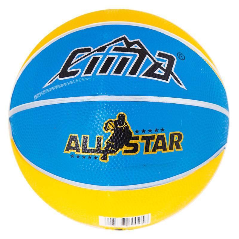 Мяч баскетбольный резиновый №3 Sima