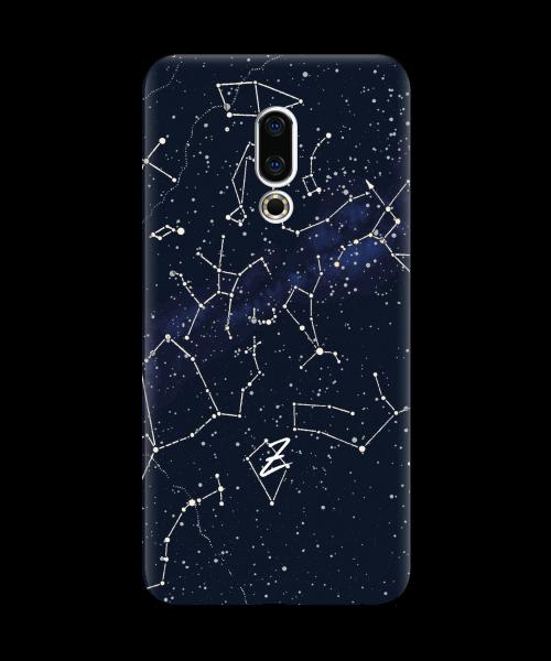 Силиконовый чехол СP-Case на Meizu 16X Stardom