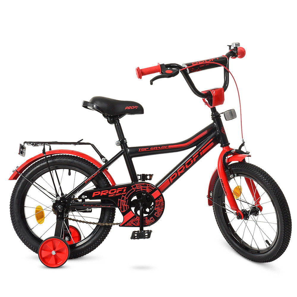 Велосипед детский PROF1 18д. Y18107 Черно - красный