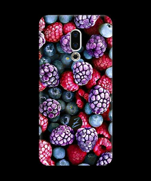 Силиконовый чехол СP-Case на Meizu 16 Frosty berry