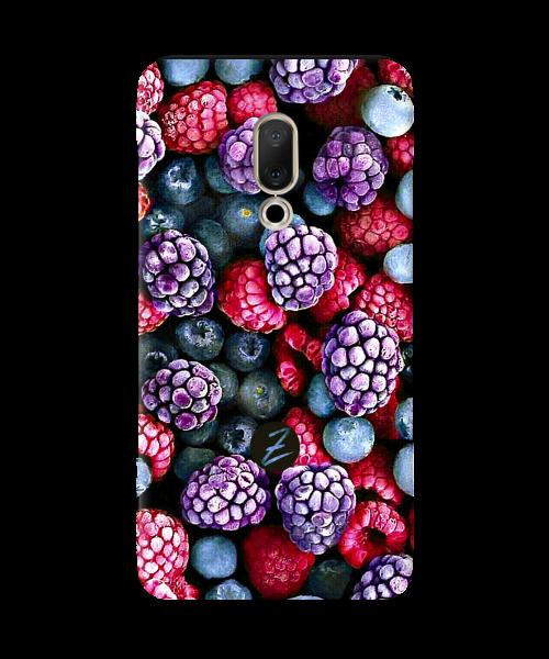Силиконовый чехол СP-Case на Meizu 15 Plus Frosty berry