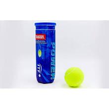 Мяч для большого тенниса TELOON (3шт) POWER (в вакуумной упаковке) MT-1