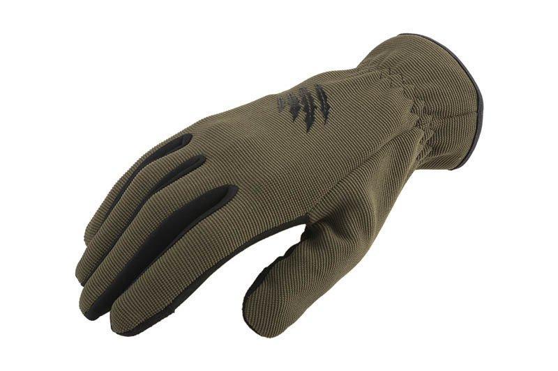 Тактические перчатки Armored Claw Quick Release™ - oliwkowe [Armored Claw] (для страйкбола)