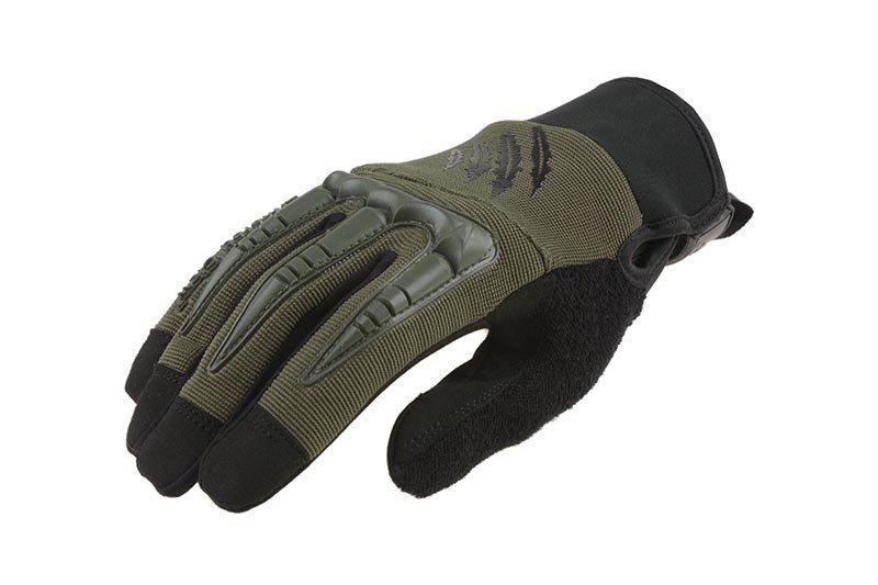 Тактические перчатки Armored Claw BattleFlex - oliwkowe [Armored Claw] (для страйкбола)