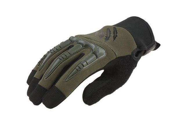 Тактические перчатки Armored Claw BattleFlex - oliwkowe [Armored Claw] (для страйкбола), фото 2