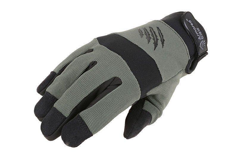 Тактические перчатки Armored Claw Shooter Cold Weather - sage green [Armored Claw] (для страйкбола)