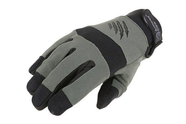 Тактические перчатки Armored Claw Shooter Cold Weather - sage green [Armored Claw] (для страйкбола), фото 2