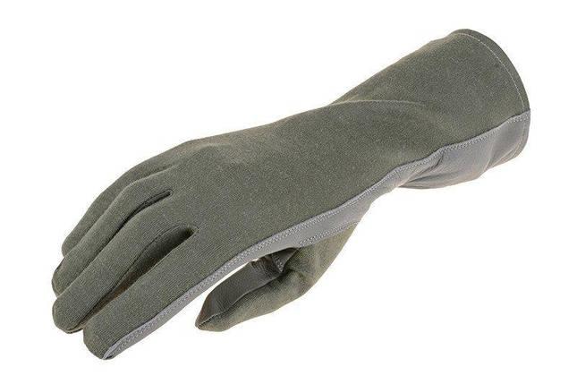 Тактические перчатки Armored Claw Nomex - sage green [Armored Claw] (для страйкбола), фото 2