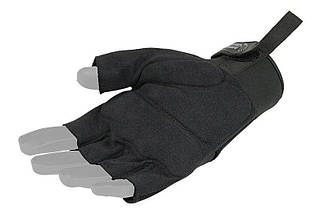 Тактические перчатки Armored Claw Shooter Cut - black [Armored Claw] (для страйкбола), фото 2