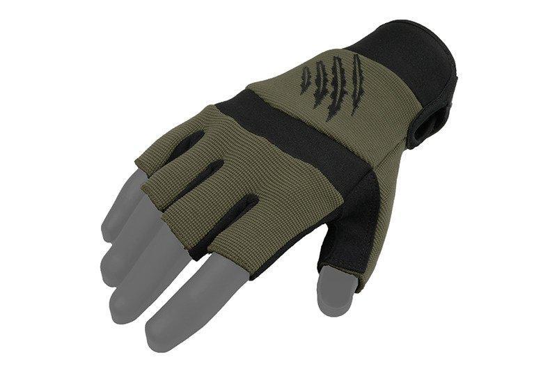 Тактические перчатки Armored Claw Shooter Cut - oliwkowe [Armored Claw] (для страйкбола)