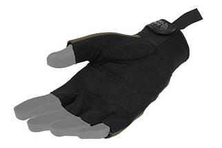 Тактические перчатки Armored Claw Shooter Cut - oliwkowe [Armored Claw] (для страйкбола), фото 2