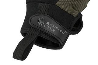 Тактические перчатки Armored Claw Shooter Cut - oliwkowe [Armored Claw] (для страйкбола), фото 3