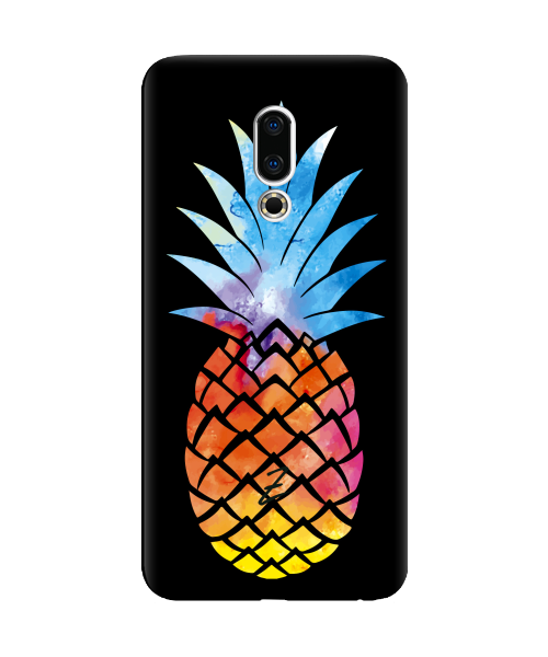 Силиконовый чехол СP-Case на Meizu 16X Ananas