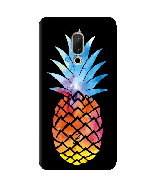 Силиконовый чехол СP-Case на Meizu 15 Plus Ananas