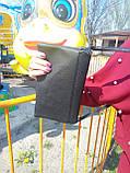 Сумка женская маленькая черная 047K, фото 4