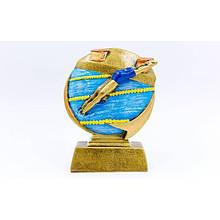 Статуэтка (фигурка) наградная спортивная Плавание Пловец