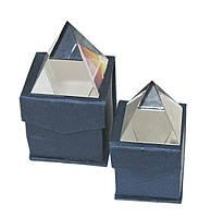 Пирамида стеклянная, 4х4 см