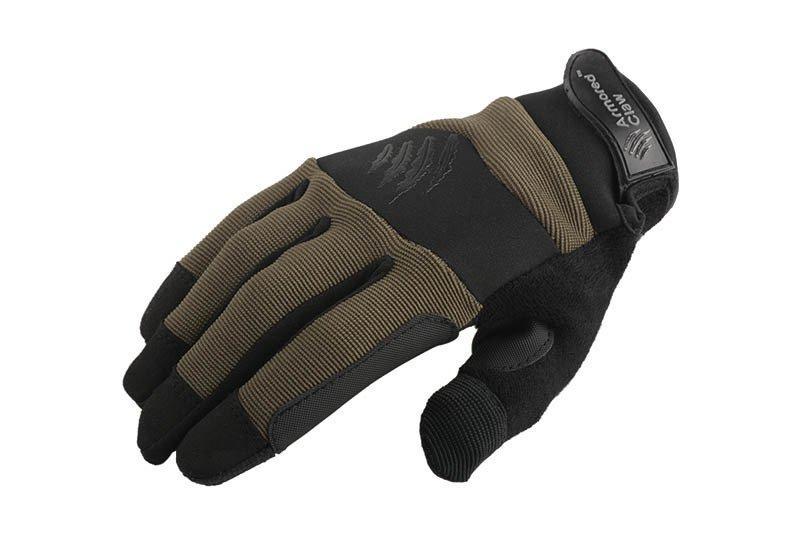 Тактические перчатки Armored Claw Accuracy - oliwkowe [Armored Claw] (для страйкбола)